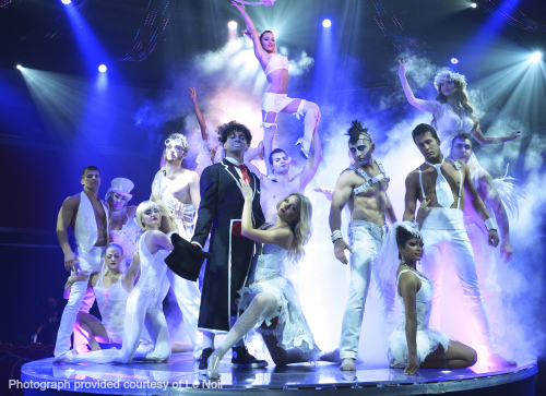[Review] Cirque-style show LE NOIR promises a night of dazzle and spectacle