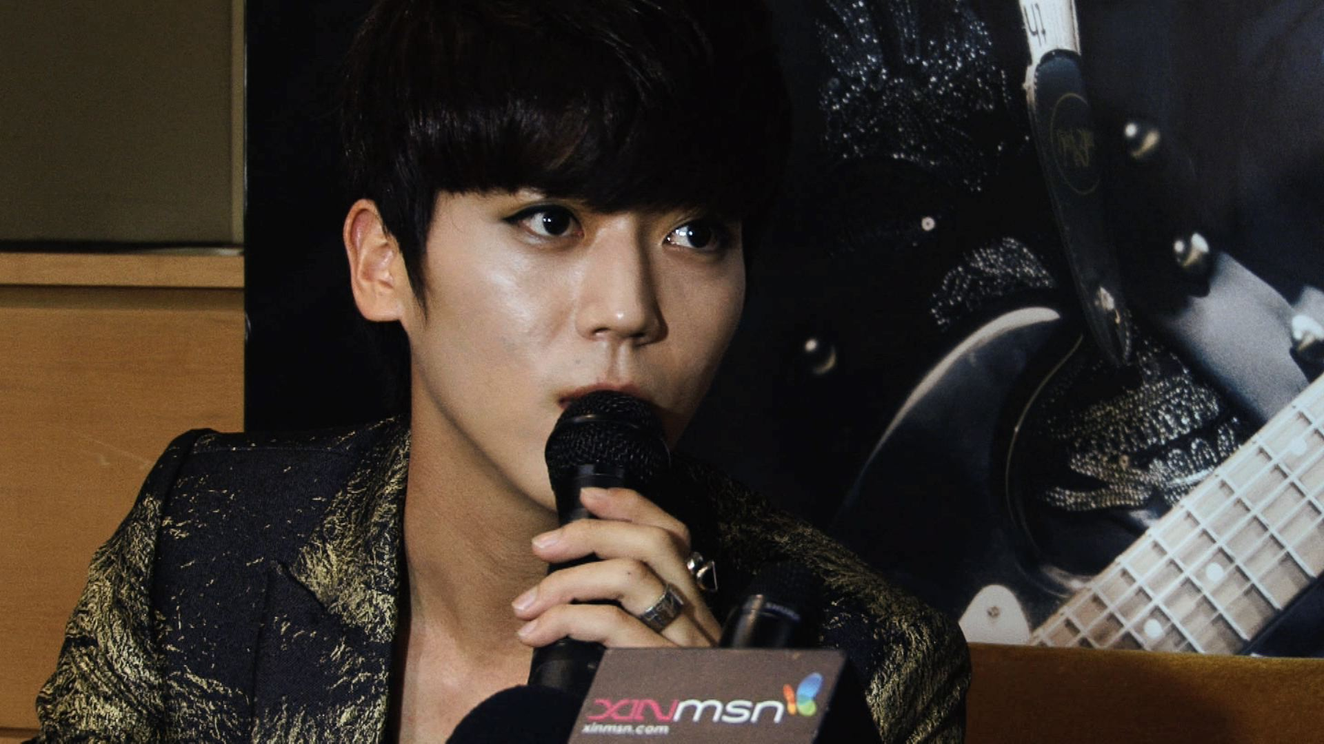 [Press Conference] Bii (필서진 / 畢書盡) – In Singapore 2013