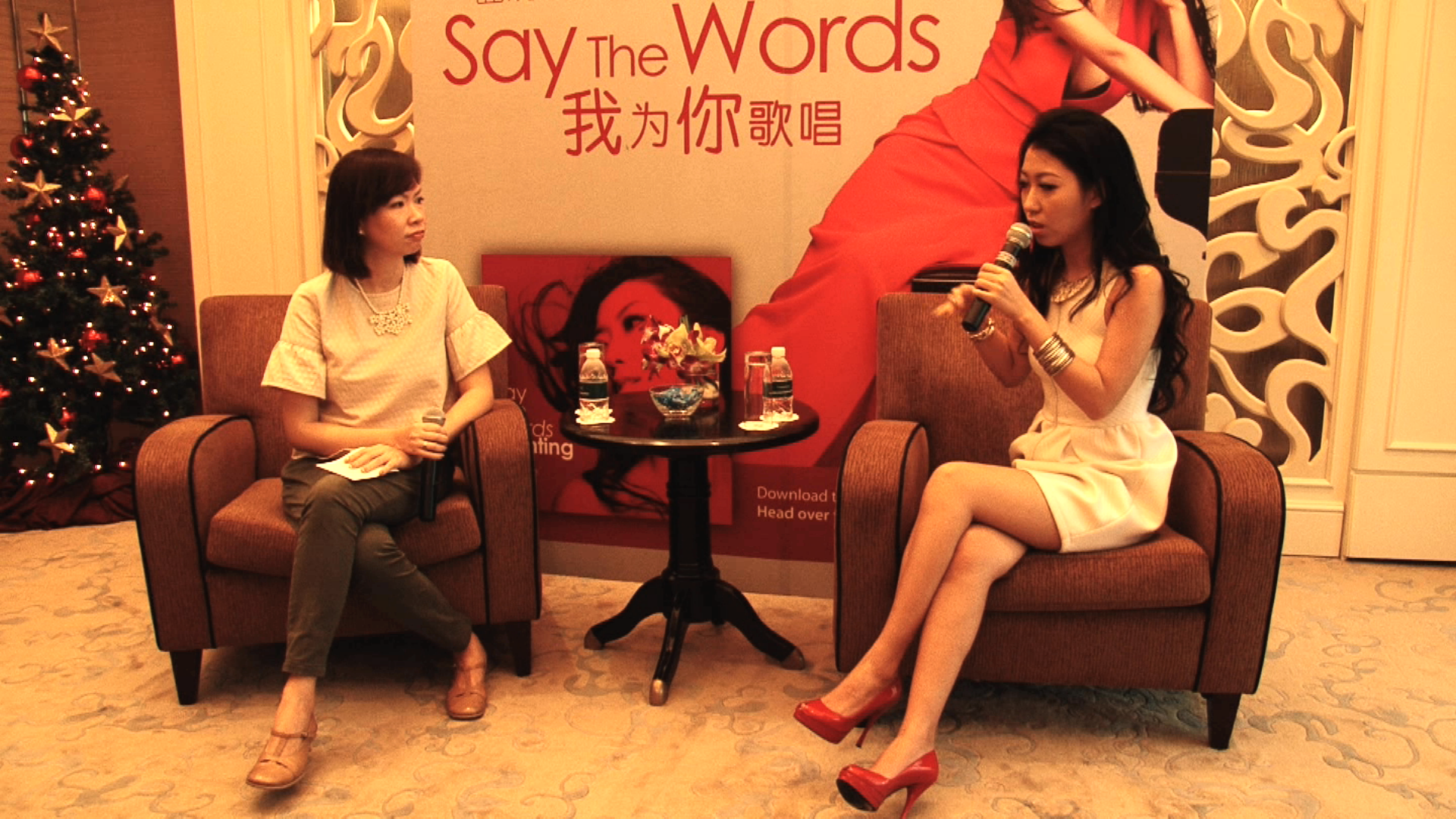 [Press Conference] Qu Wanting (曲婉婷) – In Singapore 2014 (Part 1)