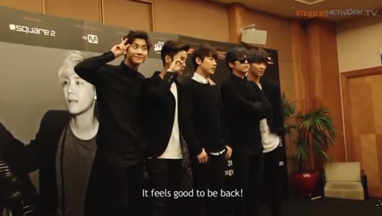 [Press Conference] F.T. Island – In Singapore 2014