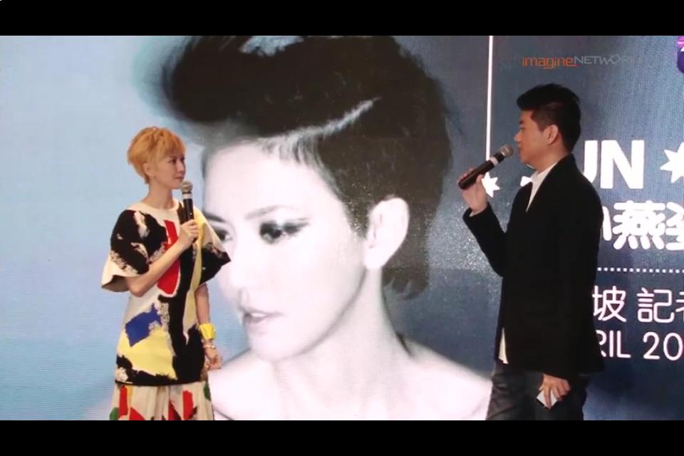 [Press Conference] Stefanie Sun (孫燕姿) – In Singapore 2014 (Part 1)