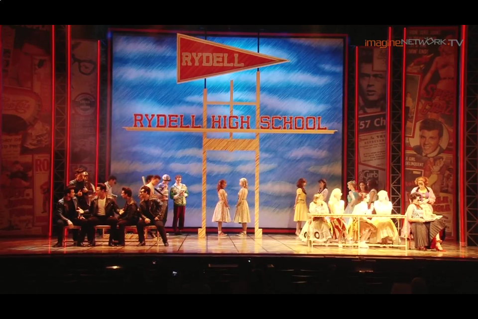"[Showcase] GREASE musical – ""Summer Days"""
