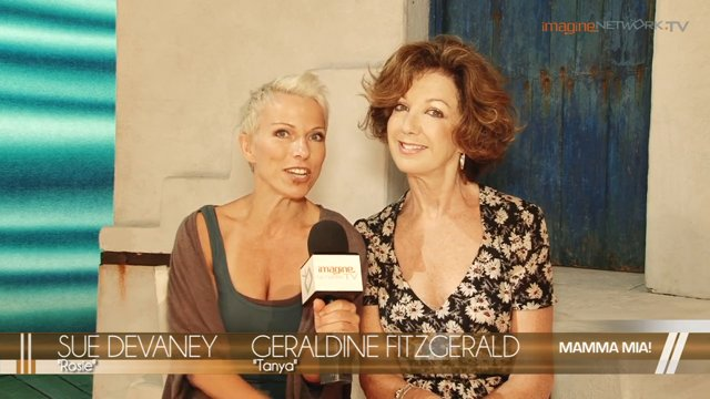 [Interview] Mamma Mia! – Sue Devaney and Geraldine Fitzgerald talk about their role as Rosie and Tanya