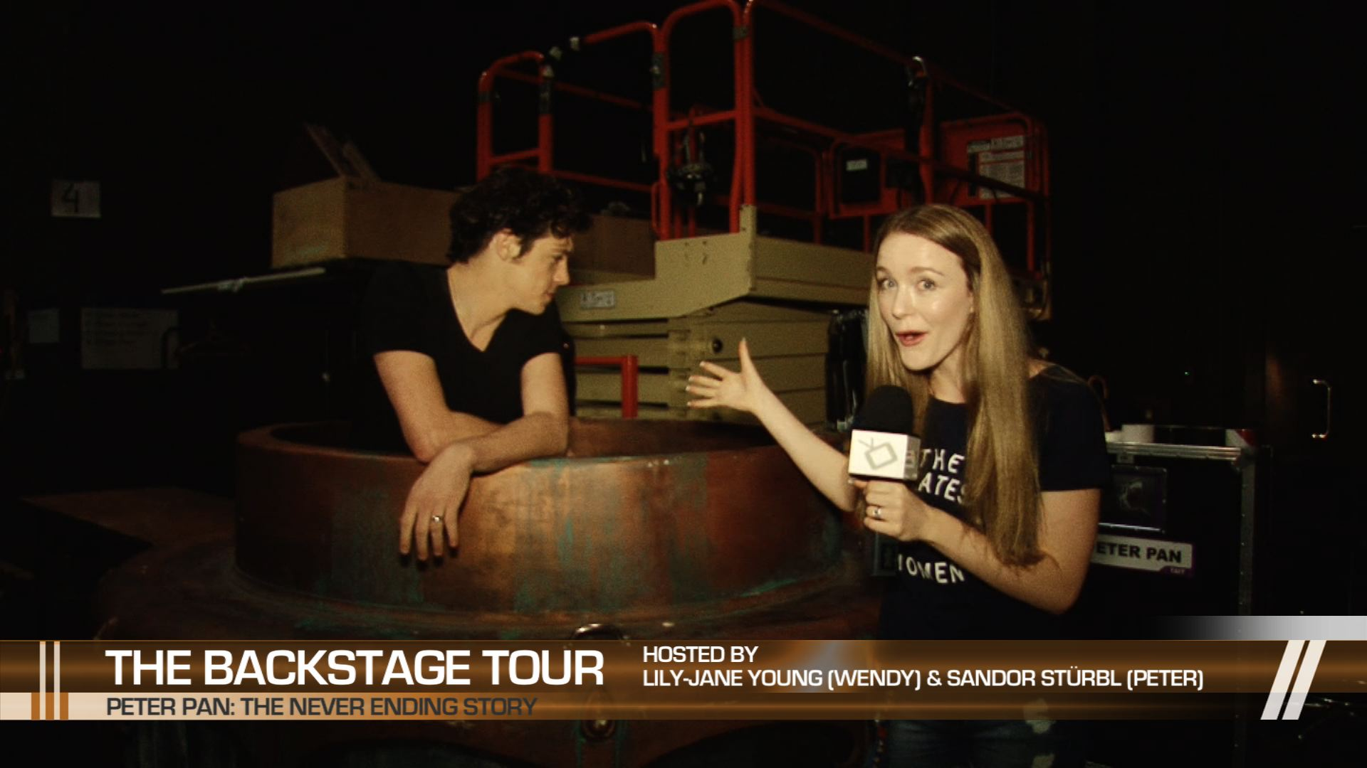 [Behind-the-scenes] Peter Pan: The Never Ending Story – Backstage Tour